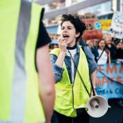 Students Strike Rachel