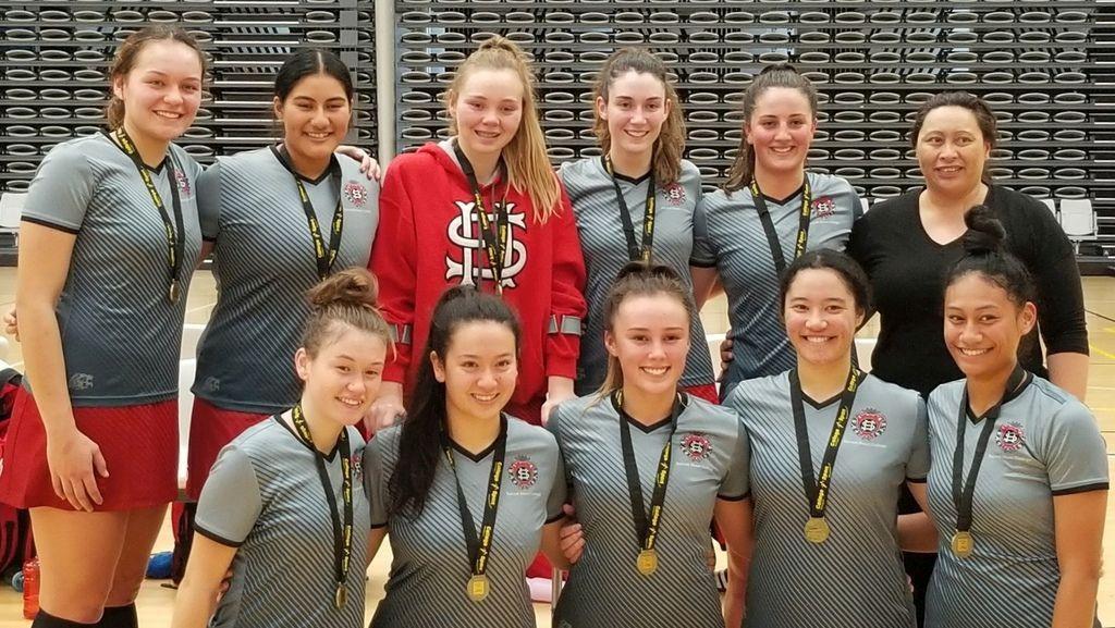 Senior A Netball Wins Regional Tournament