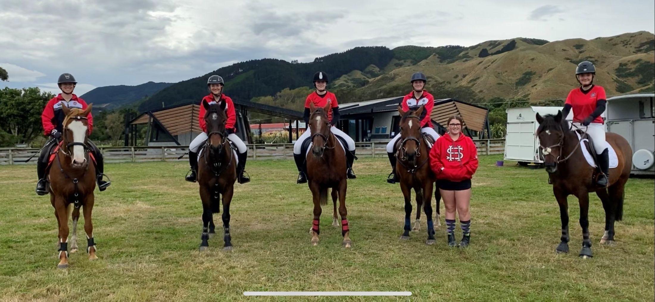 Equestrian Team Success