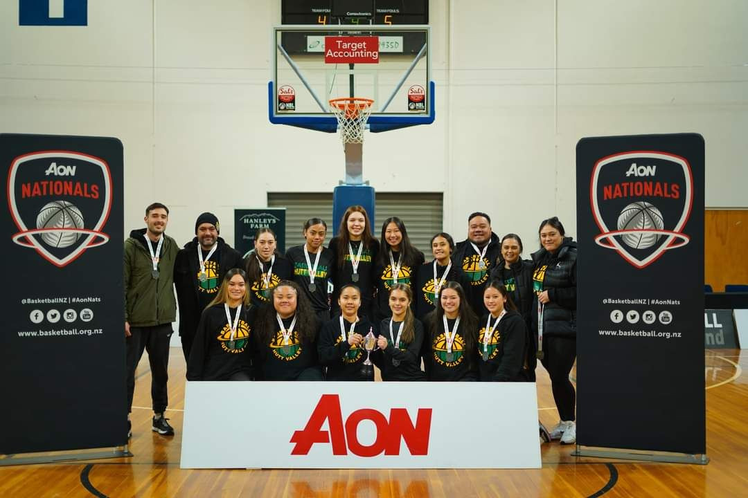 U17 Basketball Nationals - Hutt Valley Rep Team